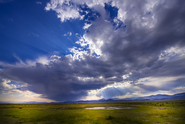 After Thunderstorm feeling in Saguache County - Colorado - USA