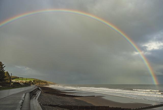 Rainbows at Amroth