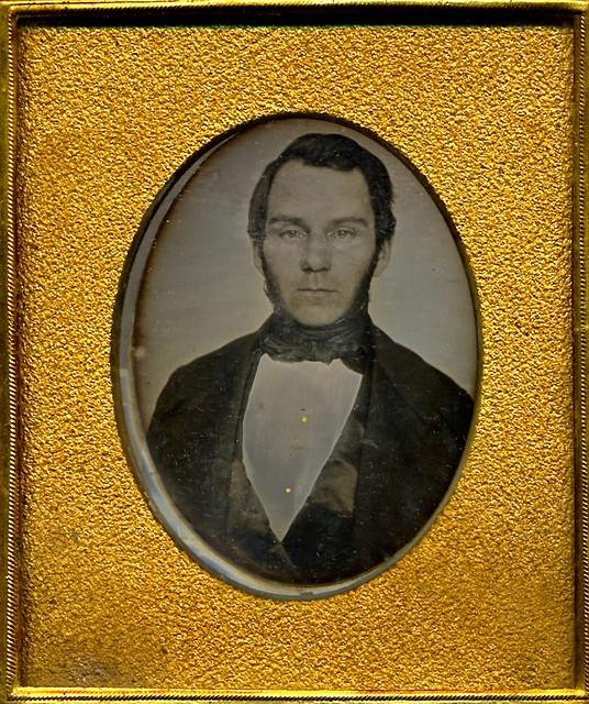 Handsome Gentleman, 1/6th-Plate Daguerreotype, Circa 1852