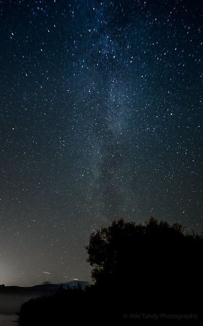 Milky Way from Brecon