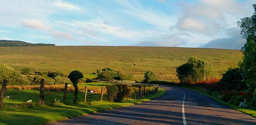 ireland irland road strase countycork