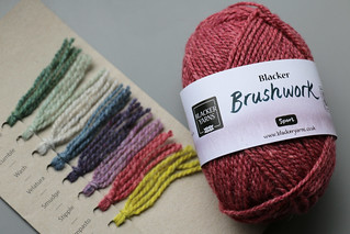 Blacker Yarns Brushwork Yarn | by English Girl at Home