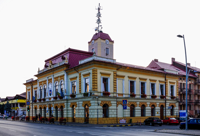 Town hall, Gura Humorului - Romania