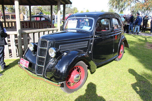 1936 Ford Model C Saloon   by Sicnag