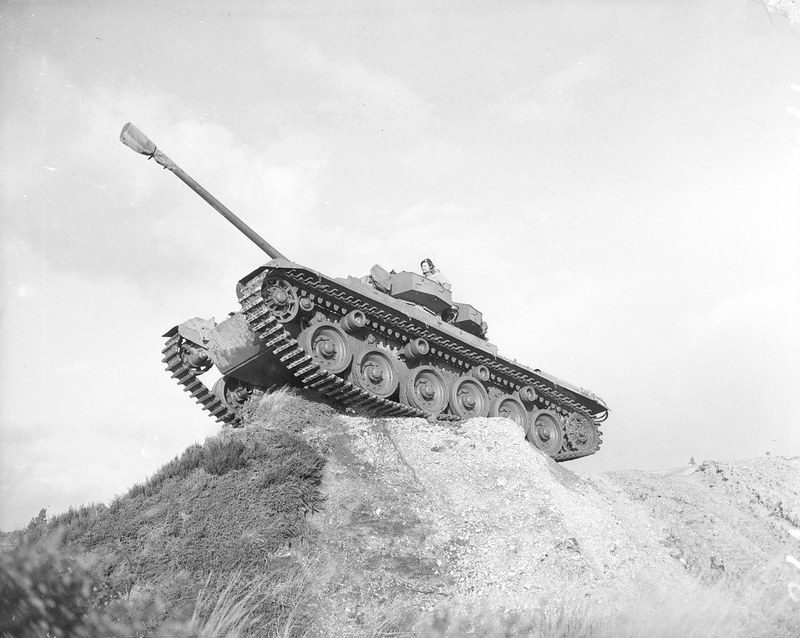 The centurion on the ridge during the Korean war