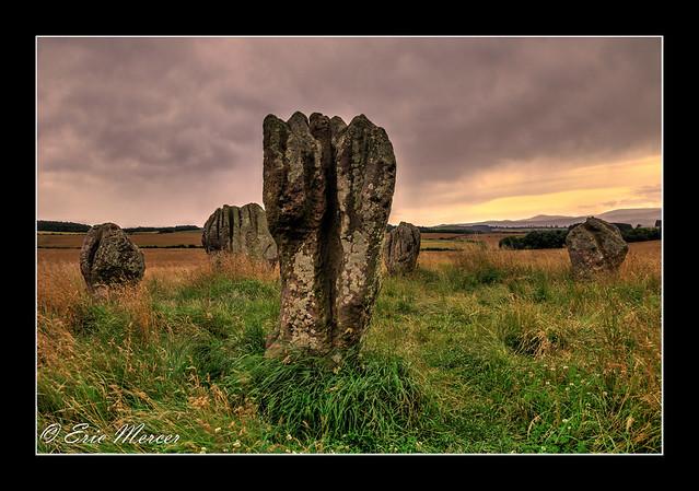 Duddo Standing Stones, Northumberland