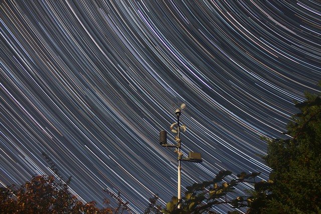 3 Hour Star Trails 09/09/17