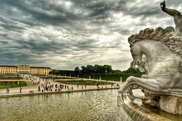 Vienna -  Schönbrunn giardini - residenza Imperiale