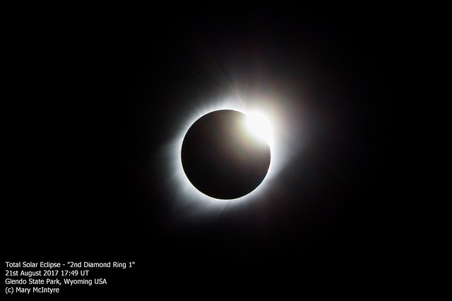 Total Solar Eclipse - 1st Diamond Ring (2) 21/08/17