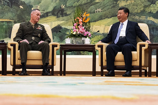 Chairman of the Joint Chiefs of Staff meets with Chinese President | by #PACOM