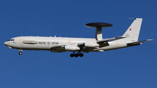 NATO E-3A Sentry.