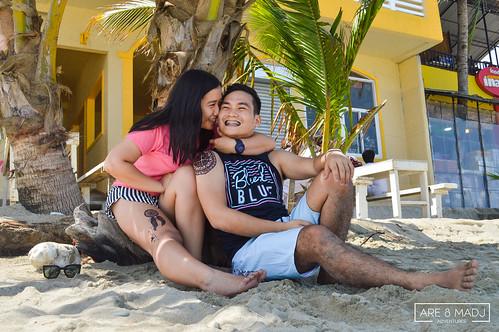 White Beach Puerto Galera   by Are & Madj Adventures