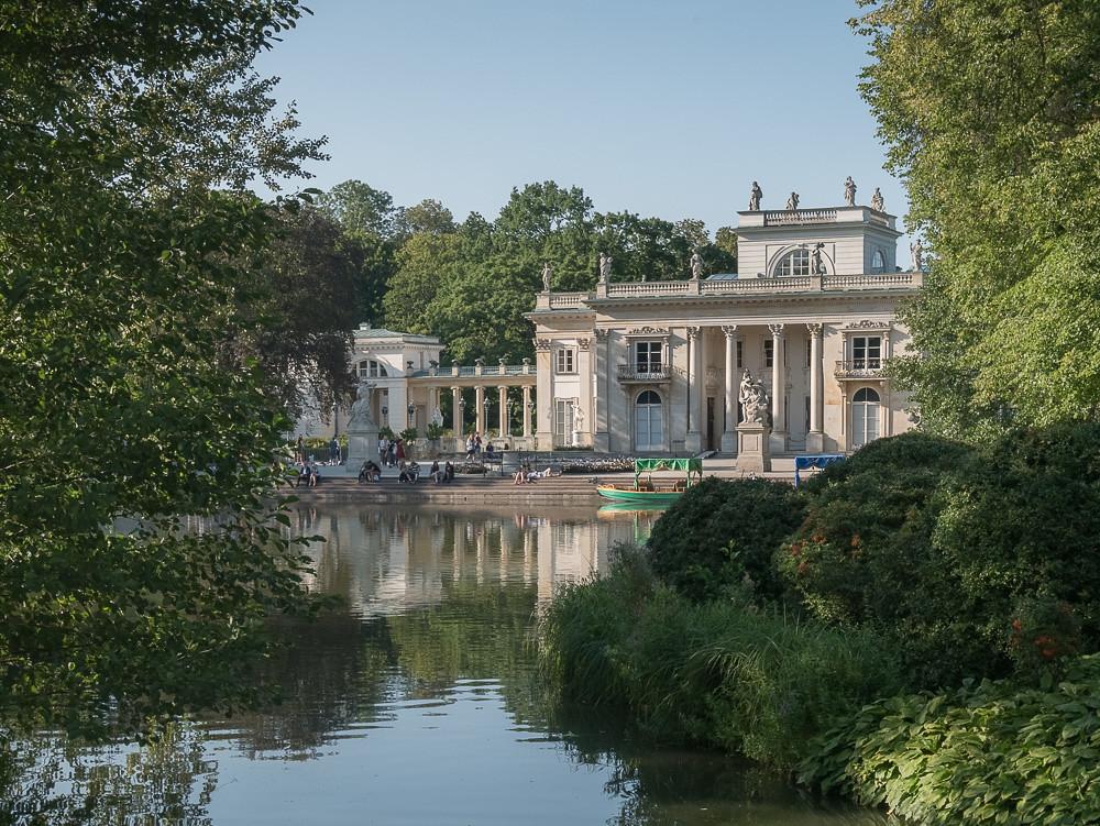 Pałac Na Wodzie Palace On The Water Royal Lazienki Park