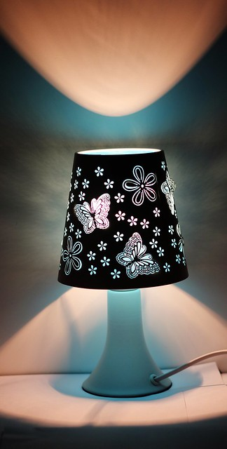 A Beautiful Table Lamp