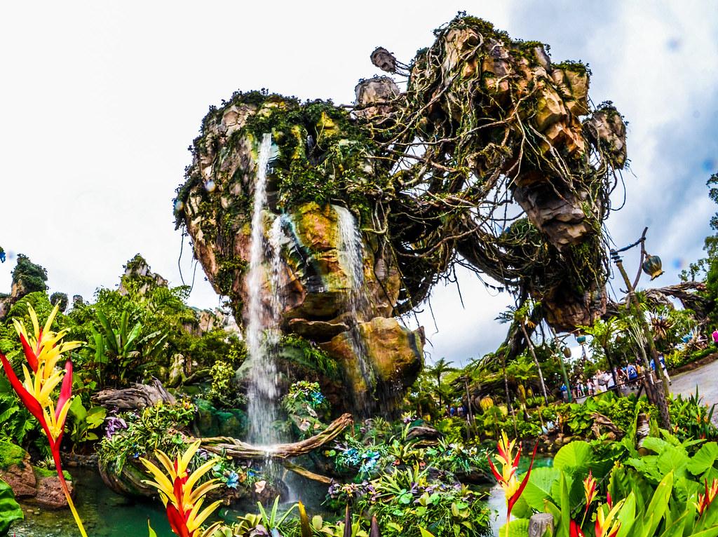Pandora flower side floating mountain AK