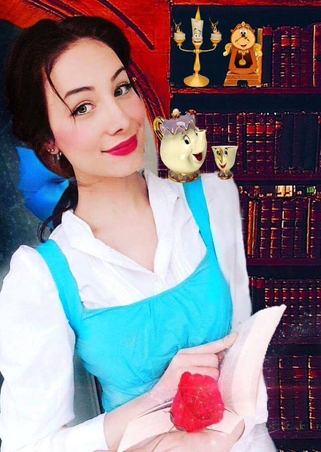 Beauty and the Beast Belle by Sarina Rose