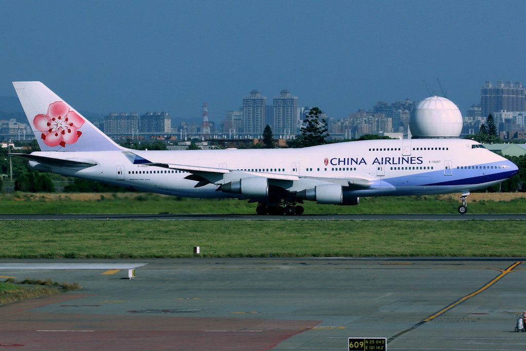 China Airlines | Boeing 747-400 | B-18207 | Taipei Taoyuan