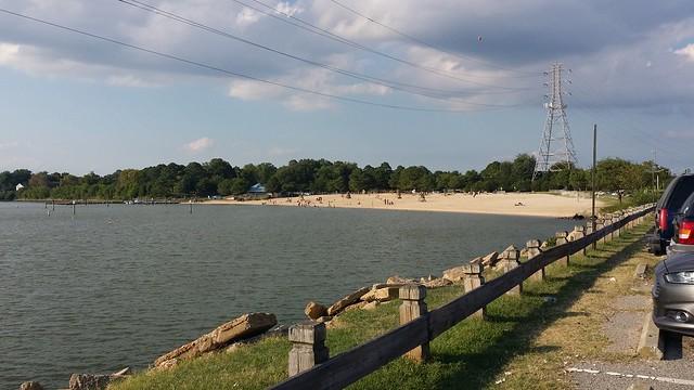 Huntington Park Beach  James River Newport News VA