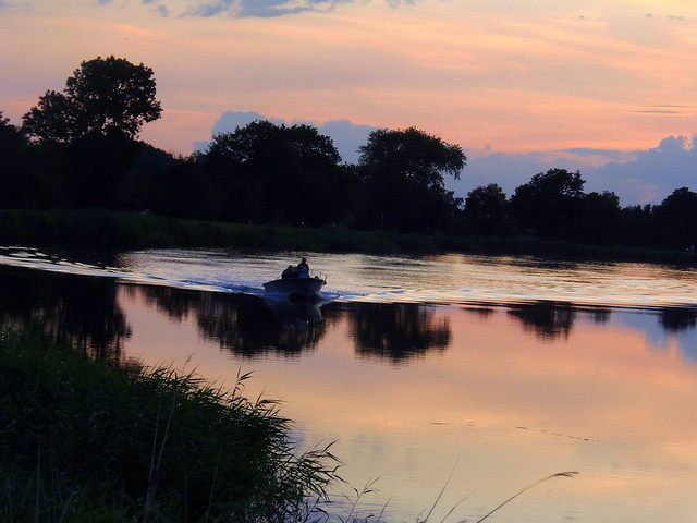 Summer Evening on the River