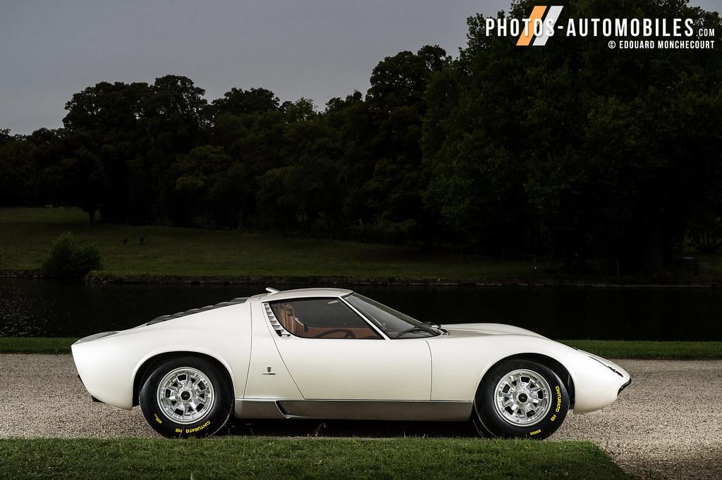 Lamborghini Miura Prototype 0862 Edouard Monchecourt Flickr