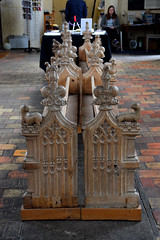 Tottington bench ends