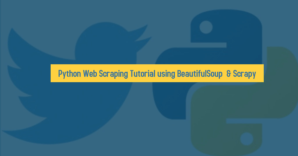 Python Web Scraping Tutorial using BeautifulSoup & Scrapy   Flickr