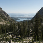 Lakes visible from Paintbrush Canyon