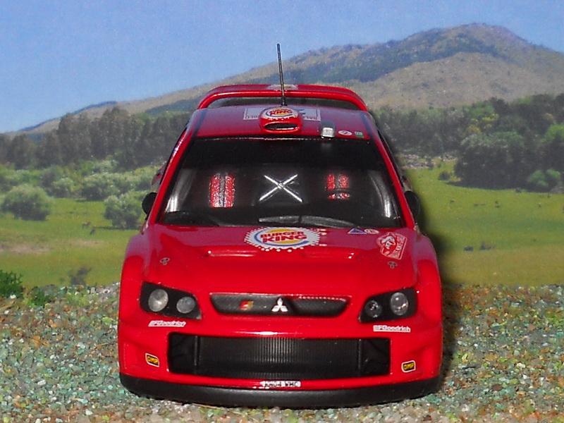 Mitsubishi Lancer WRC – Montecarlo 2007