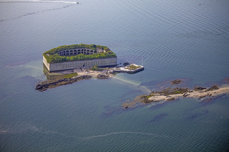 Fort Gorges, South Portland, Maine