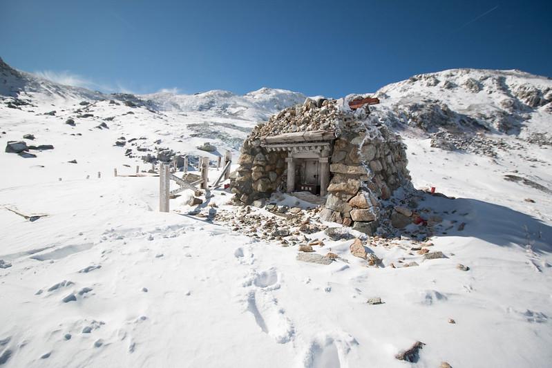 冬の立山 雪山登山