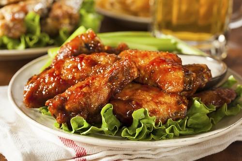 Barbecue Buffalo Chicken Wings   by astropizza