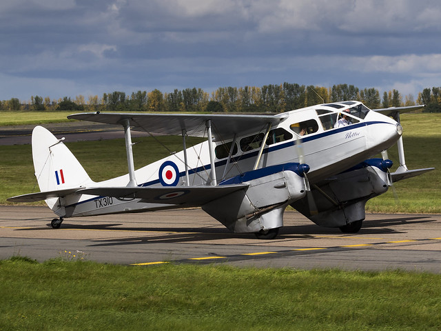 Cirrus Aviation LTD | De Havilland DH-89A Dragon Rapide | G-AIDL