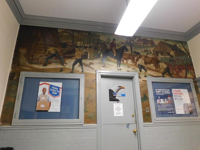 Philadelphia (Southwark), PA Post Office Mural