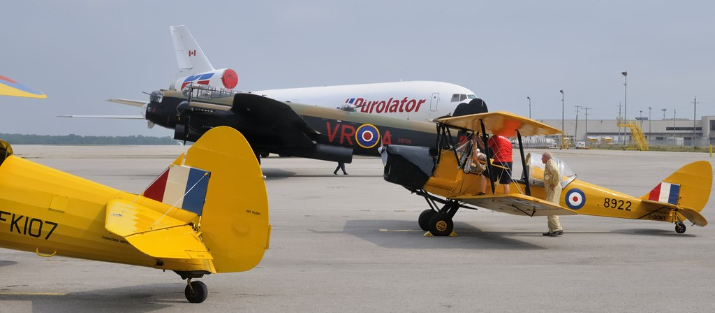 Flight ops - Canadian Warplane Heritage Museum - Hamilton