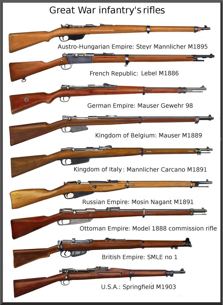 ww1  Infantry Rifles