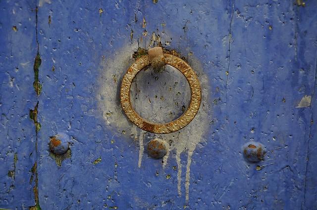 Detall porta