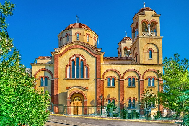 St. George  Cathedral- Careas (Athens-Greecee)