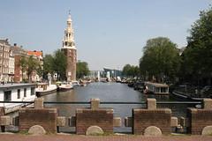 Montelbaanstoren aan de Oudeschans. Amsterdam, 20170814_IMG_6656