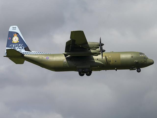 Royal Air Force | Lockheed Martin C-130J-30 Hercules C.4 | ZH866