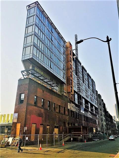 Under-Construction Gridiron Condominiums, Pioneer Square, Seattle WA