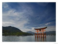 Itsokushima torii Japan