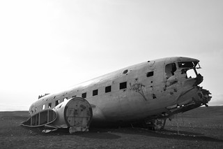 Iceland plane wreck | by Slalon