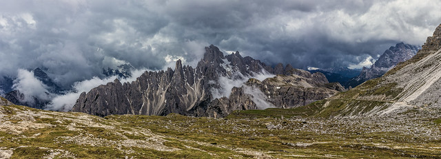 Storm in Tre Cime