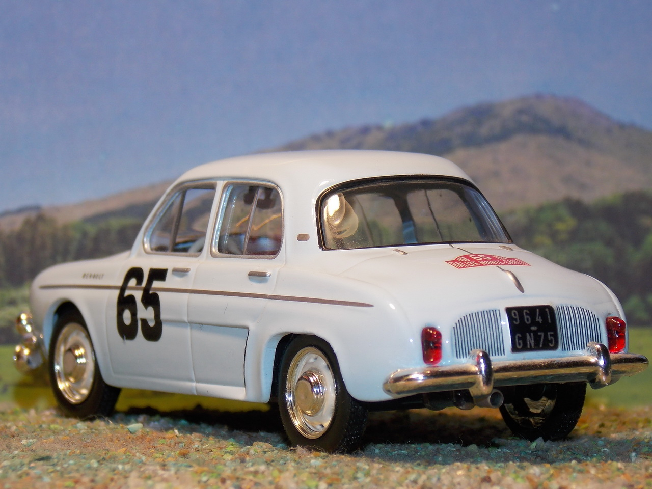 Renault Dauphine – Montecarlo 1958