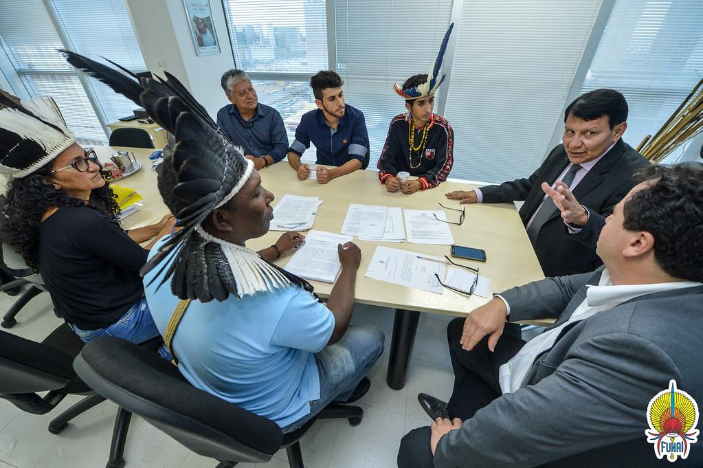 Reunião com as lideranças Pankararu, Tuxá Itacuruba, Fulni-ô, Pankararé  © Mário Vilela » FUNAI