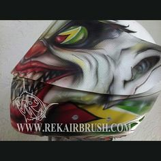 Airbrushed Motorcycl