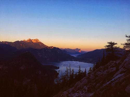 austria alps hiking photography sun sunlight sunrise sky wandering