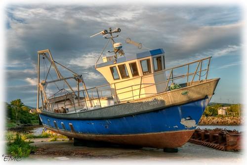 coastal coastalview coastalireland buncrana donegal ireland sky outdoor ulster inishown boat harbour bythesea shoreline seascape waterscape hdr tonemapped nikon d5300 thewildatlanticway rubicon