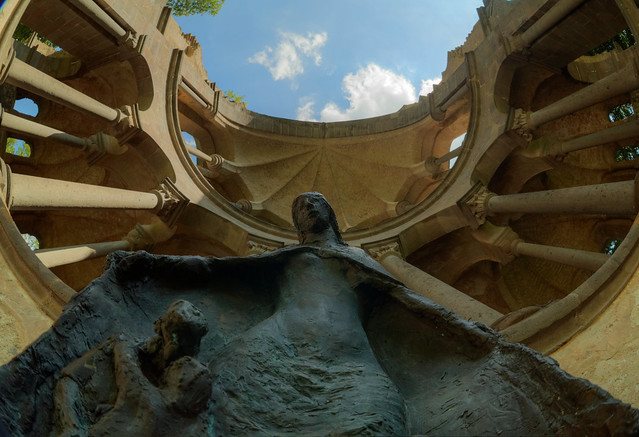 Ruin Monastery Heisterbach, Germany