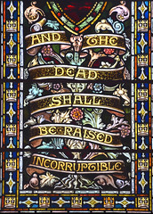 and the dead shall be raised incorruptible (AL Moore, 1909)